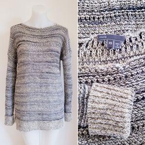 VINCE Drop Shoulder Knit Sweater, XS